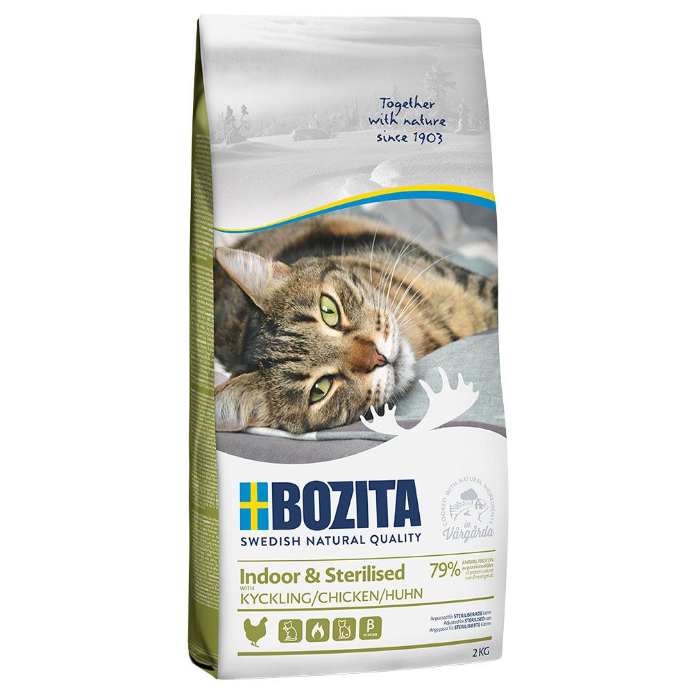 Bozita Feline Indoor & Sterilised 2 kg
