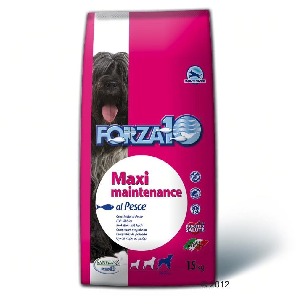 2x15kg Maintenance Forza10 Maxi - Croquettes pour chien - Poisson