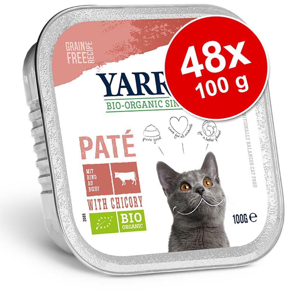 Image of Yarrah Bio 24 x 100 g - Bocconcini in Salsa con Pollo bio & Manzo bio
