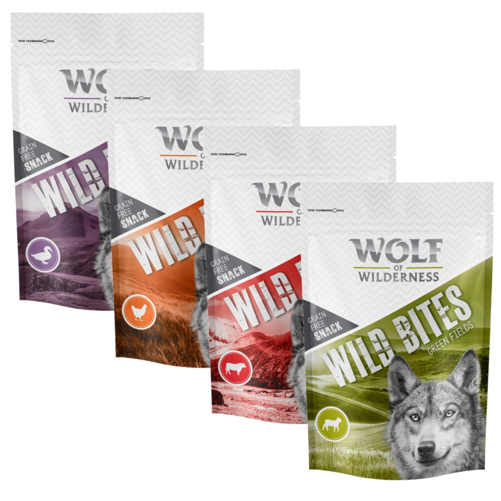 Mixed Pack Wolf of Wilderness Dog Snacks