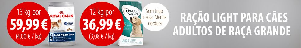 concept for life light para cães grandes