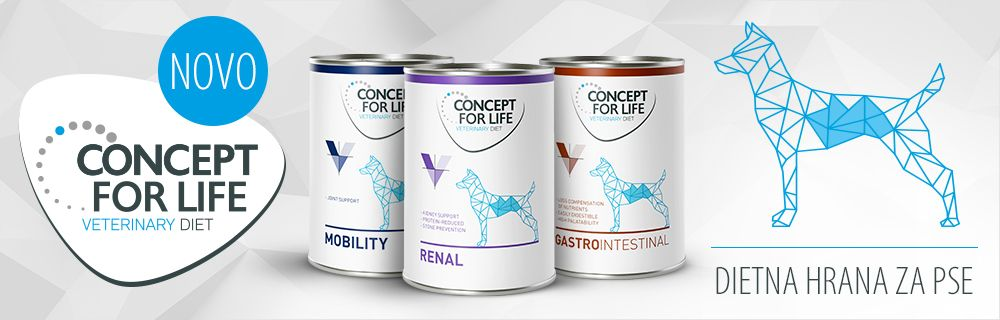Concept for Life Veterinary Diet for Dogs