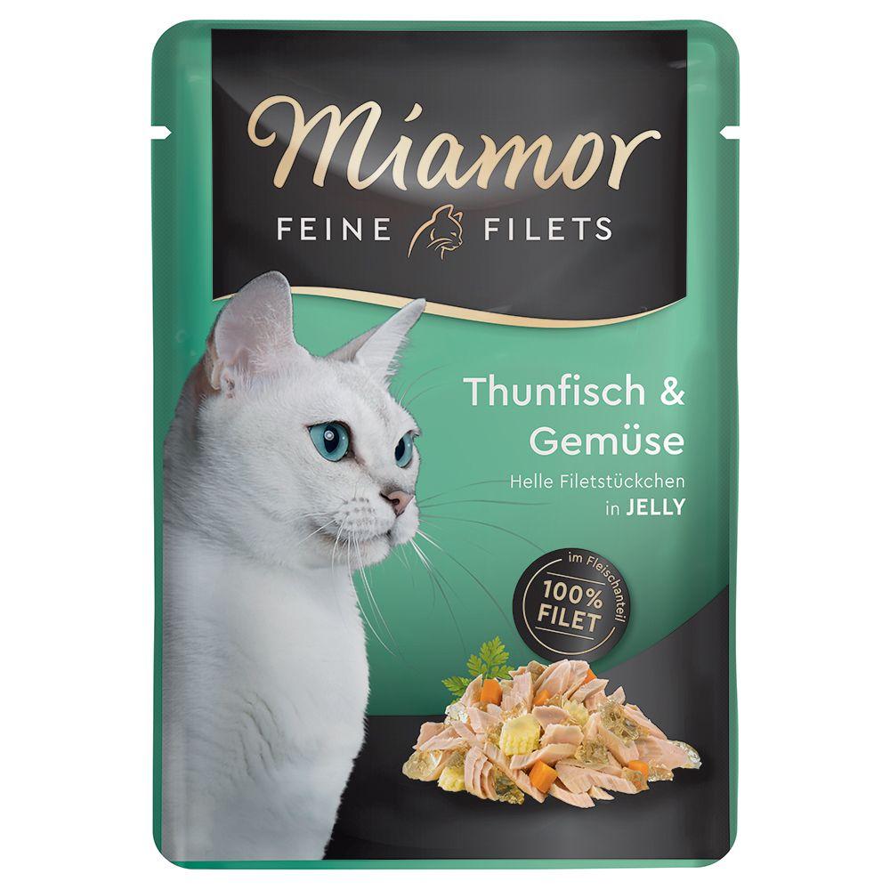 Miamor Fine Filets Pouch 6 x 100 g - Kyckling i tomatgelé