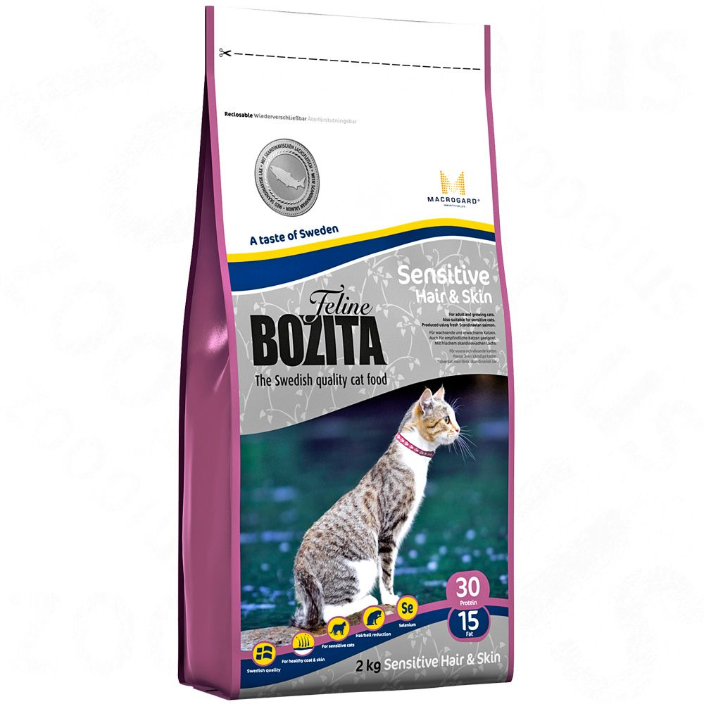 Foto Bozita Feline Hair & Skin - Sensitive - 2 x 10 kg - prezzo top!