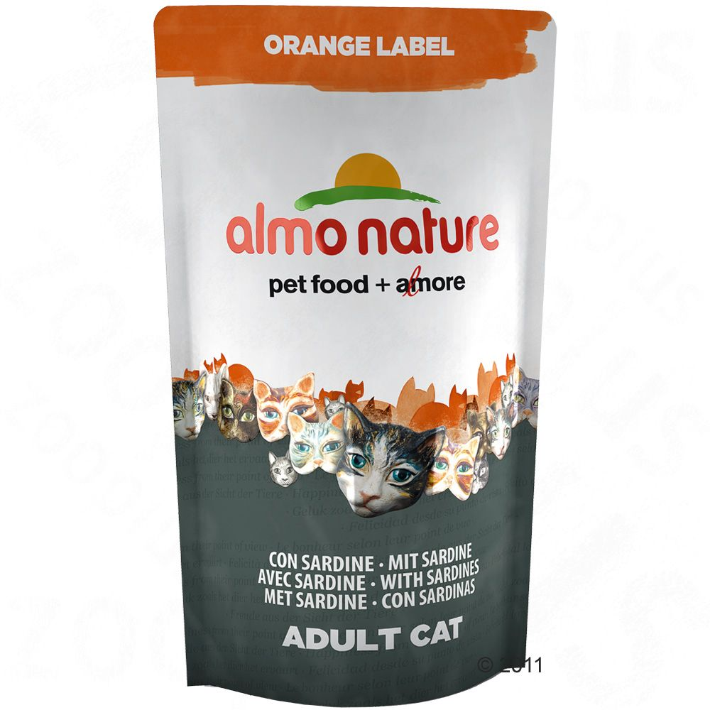 Chat Croquettes Almo Nature Almo Nature Orange Label
