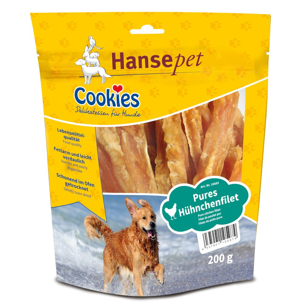 Medium/Large Chicken Fillets Cookie's Dog Snacks