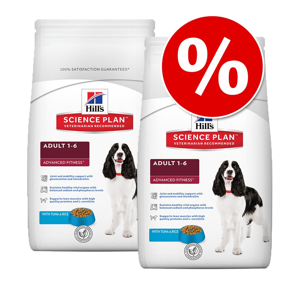 Ekonomipack: 2 x storpack Hill's Science Plan till lågpris - Puppy Healthy Development Medium (2 x 12 kg)