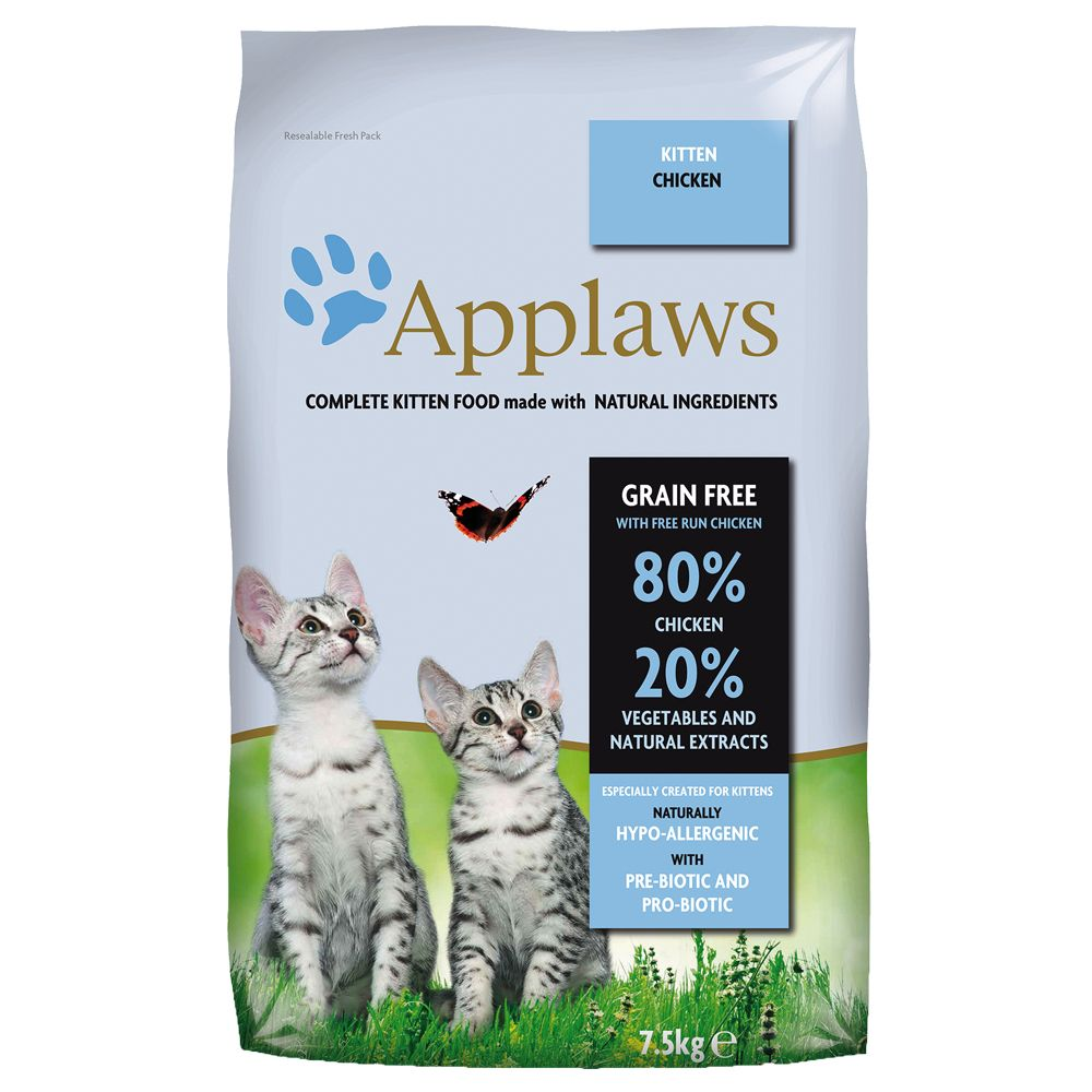 INOpets.com Anything for Pets Parents & Their Pets Applaws Cat Food for Kittens - 400g