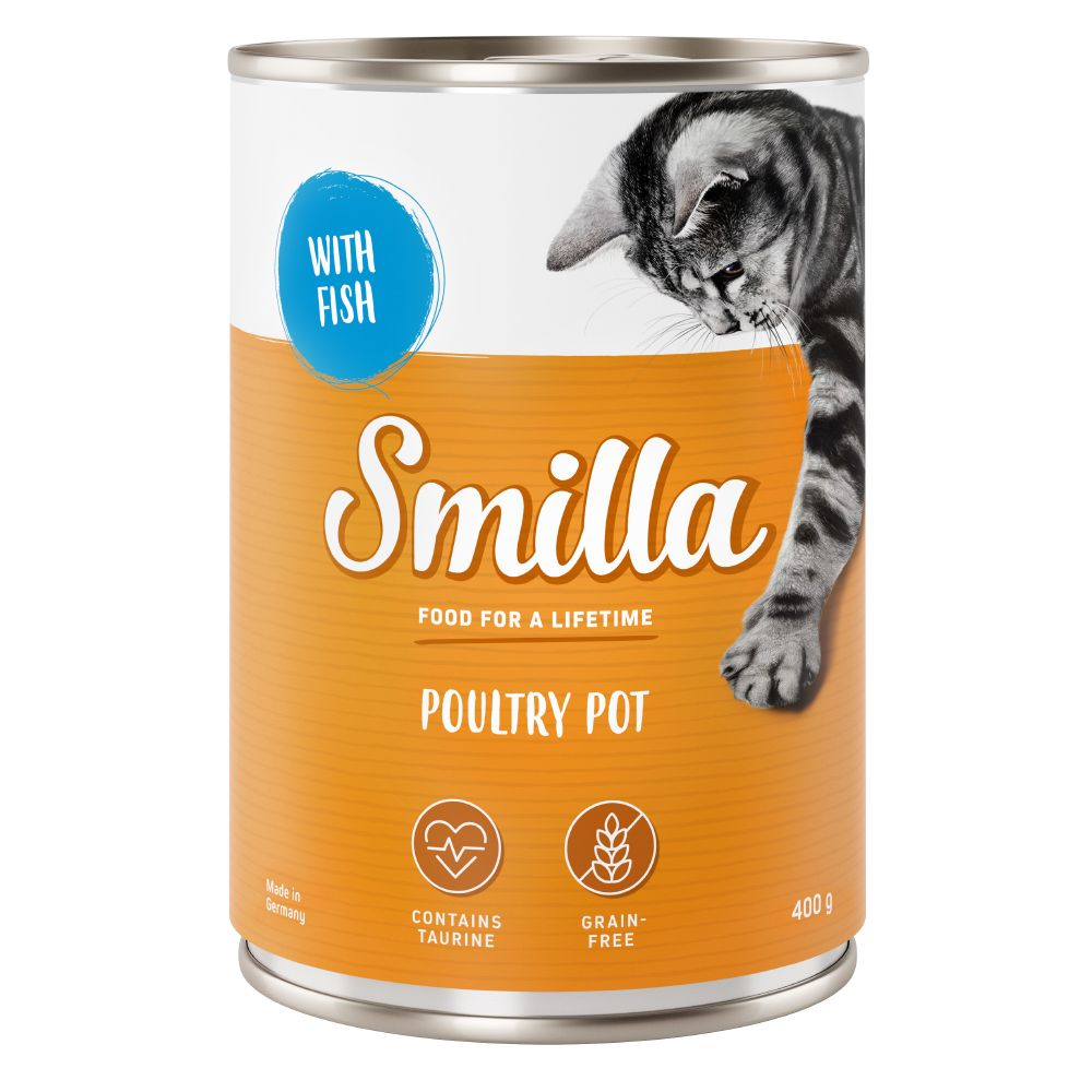 Tender Poultry with Lamb Smilla Wet Cat Food