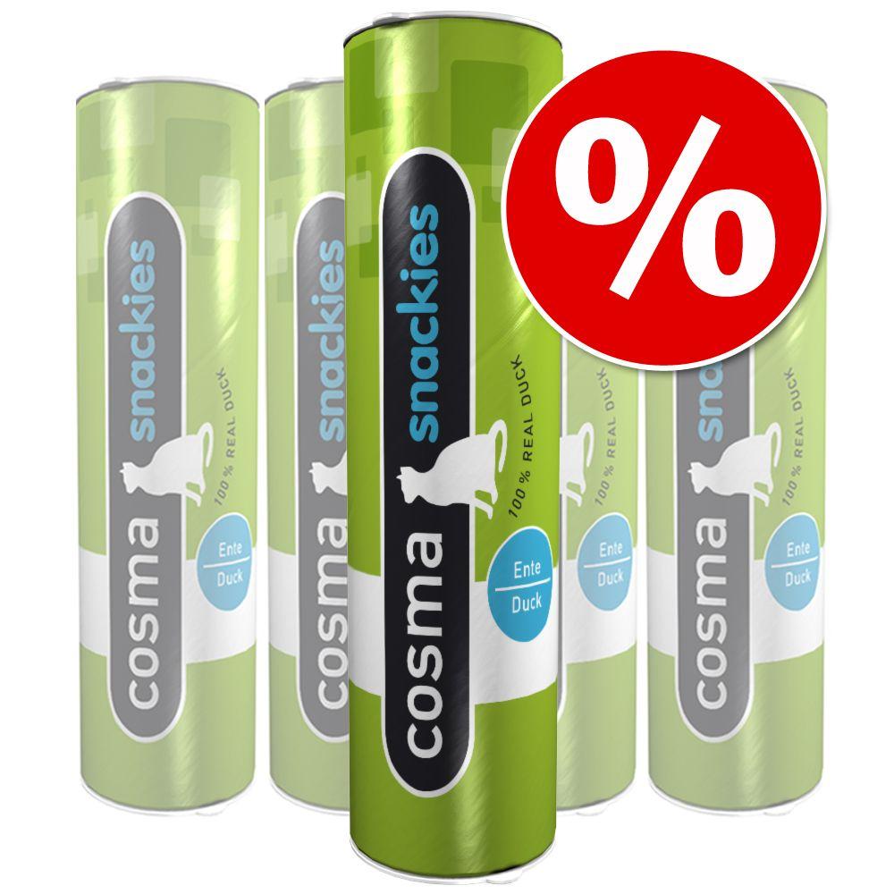 Sparpaket Cosma snackies - 5 x Ente (105 g)