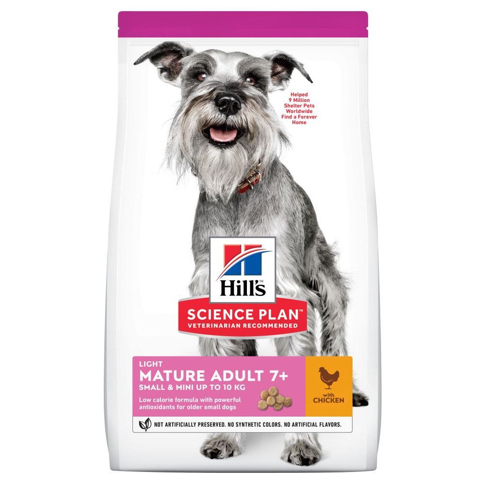 Mature 7+ Mini Light Chicken Hill's Science Plan Dry Dog Food