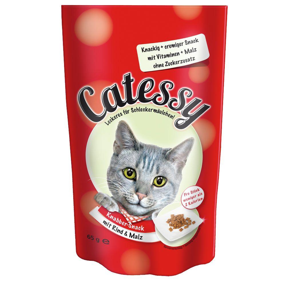 Image of Catessy Knabber-Snacks, Rind & Malz - 65 g