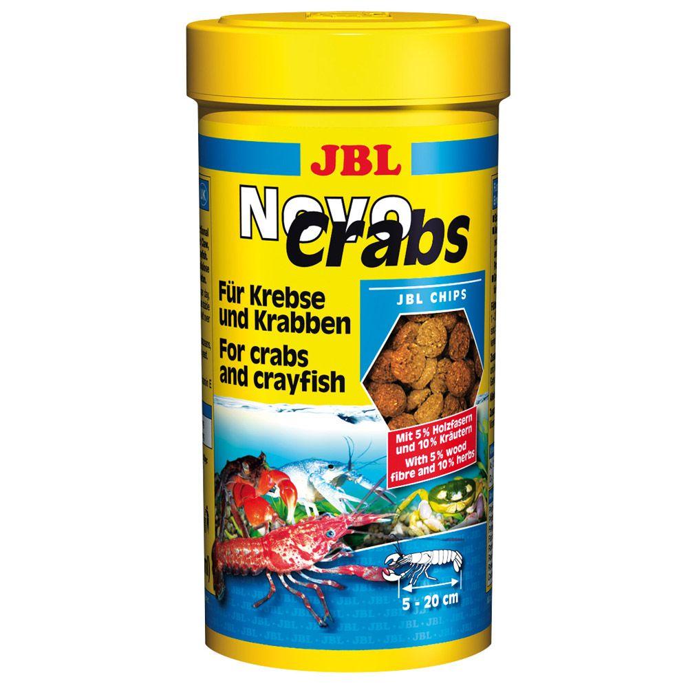 3x250mL JBL NovoCrabs - Nourriture pour poisson