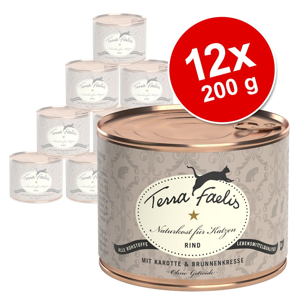Chat Boîtes et sachets Terra Faelis Lots économiques de boîtes pour chat Terra Faelis