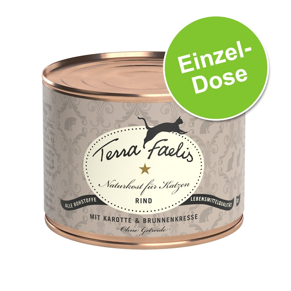 Terra Faelis Fleisch-Menü 1 x 200 g - Huhn, Kür...