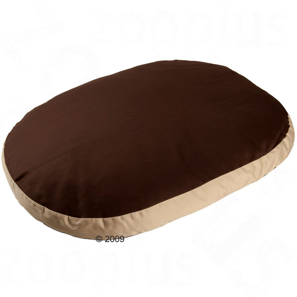 Cozy Cappuccino Dog Cushion - 95 x 67 x 9 cm (L x W x H)
