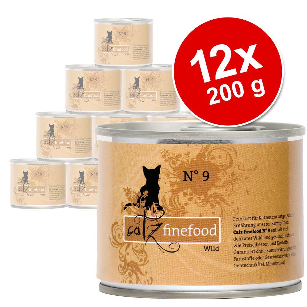 Korzystny pakiet Catz Finefood, 12 x 200 g - Kurczak z tuńczykiem