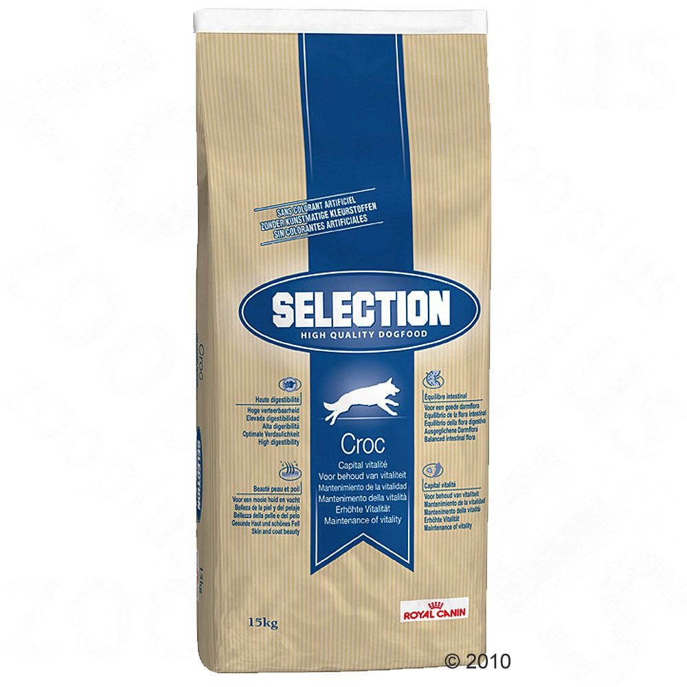 Royal Canin Selection Croc - 15 kg