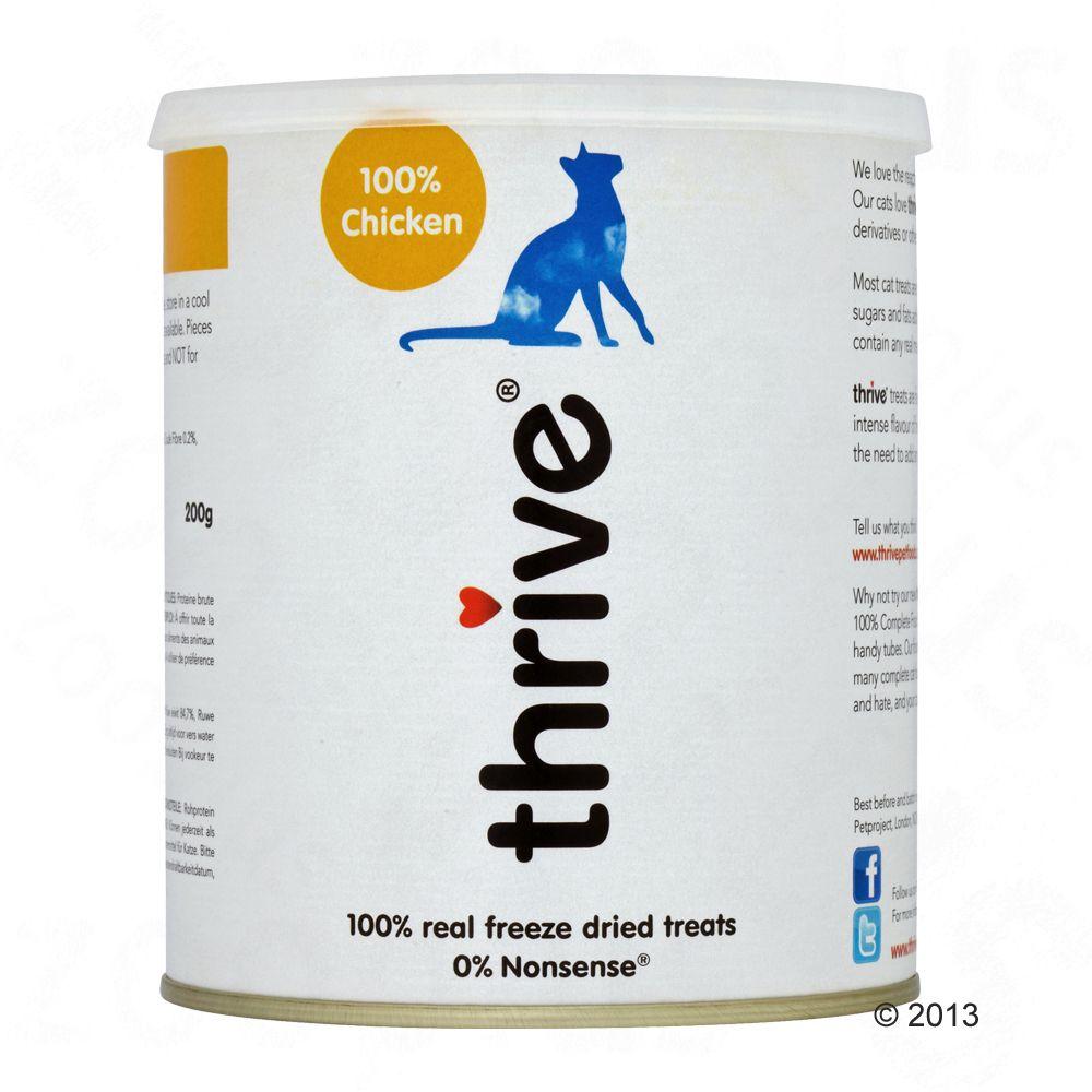 ! Gefriergetrocknete Katzensnacks Maxi Tube Huhn - 200 g