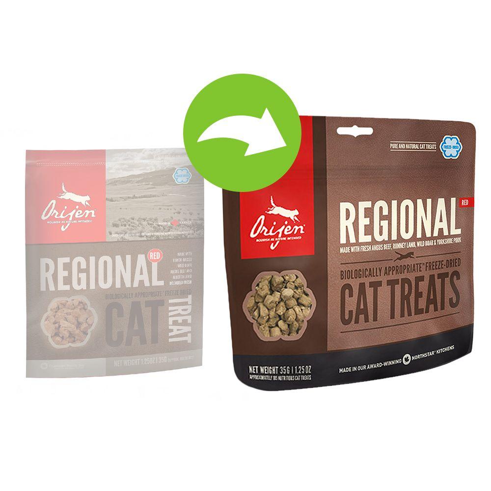 Orijen Cat Snack Regional - Sparpaket: 3 x 35 g