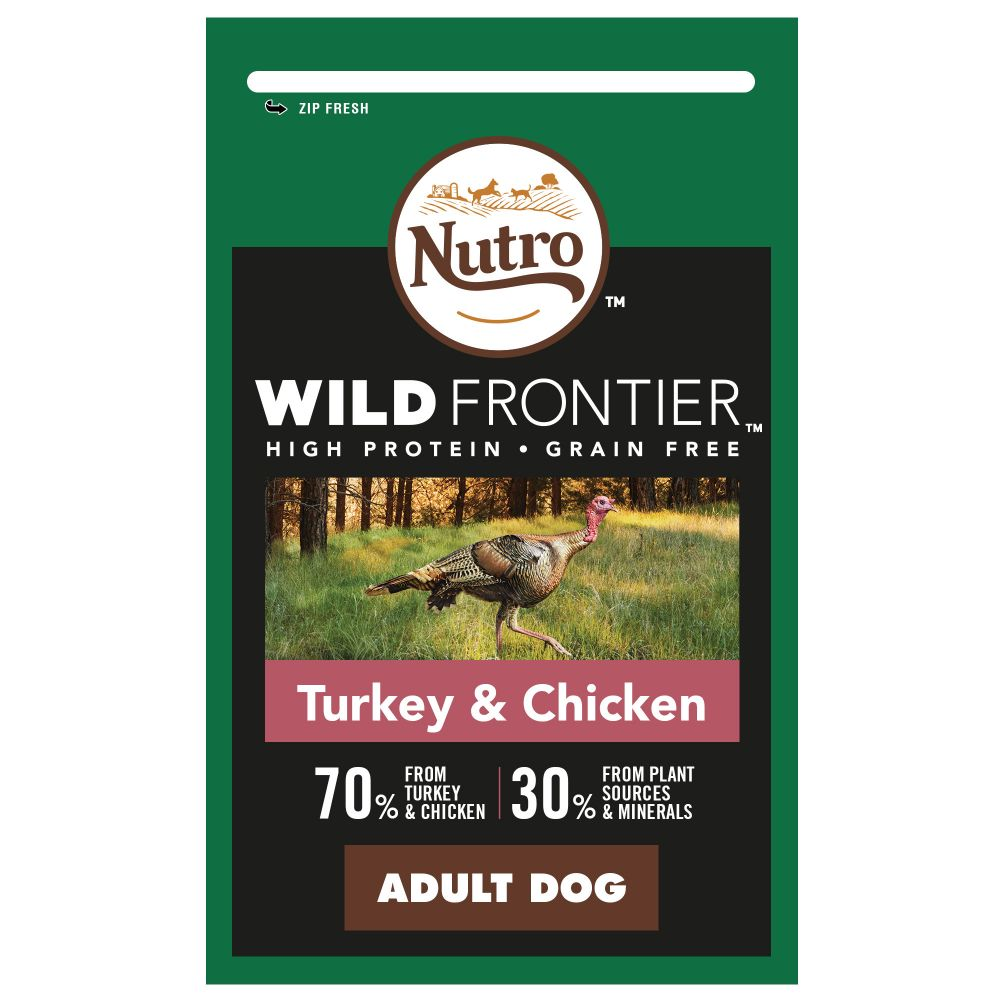 1.5kg Nutro Wild Frontier Dry Dog Food