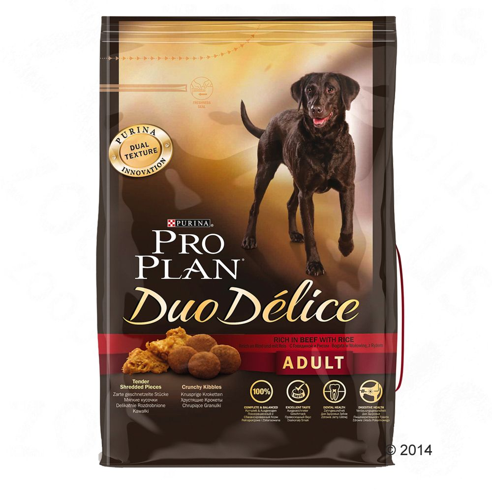 Foto Pro Plan Duo Délice Manzo & Riso - 10 kg Purina Pro Plan Duo Delice
