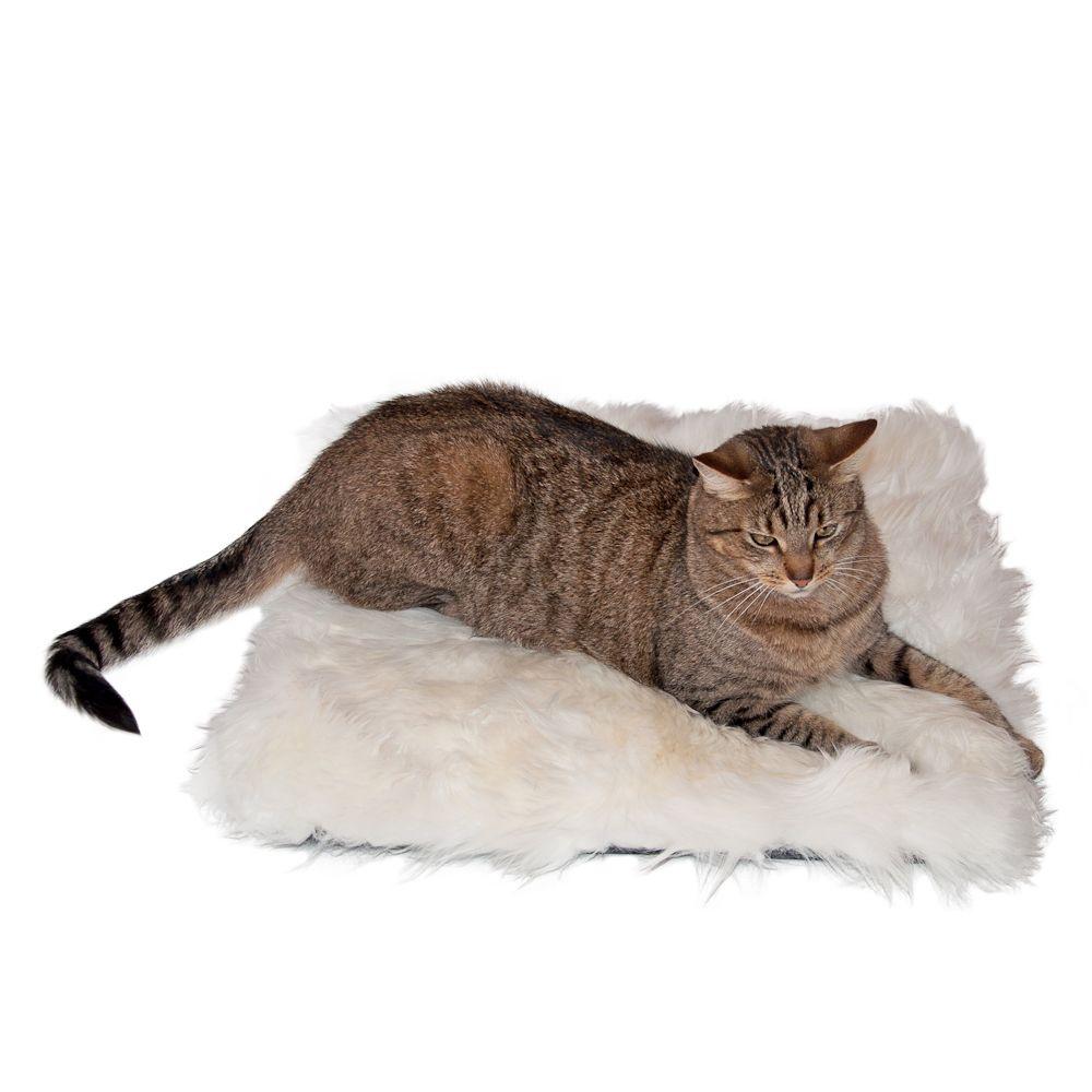 Trixie poduszka dla kota z owczej wełny - Dł. x szer.: 45 x 45 cm