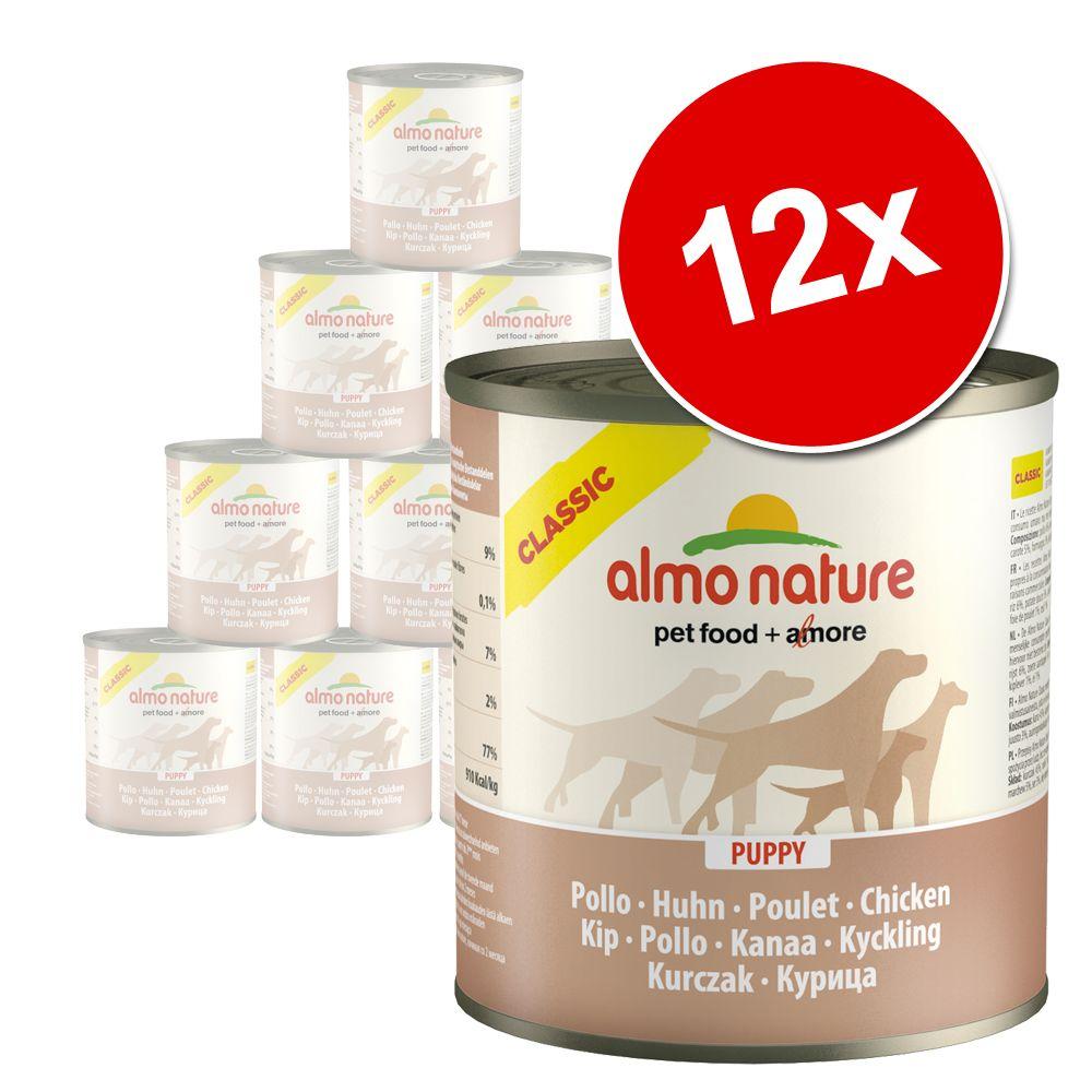Almo Nature Classic 12 x 280 g / 290 g – Nötkött & skinka (290 g)