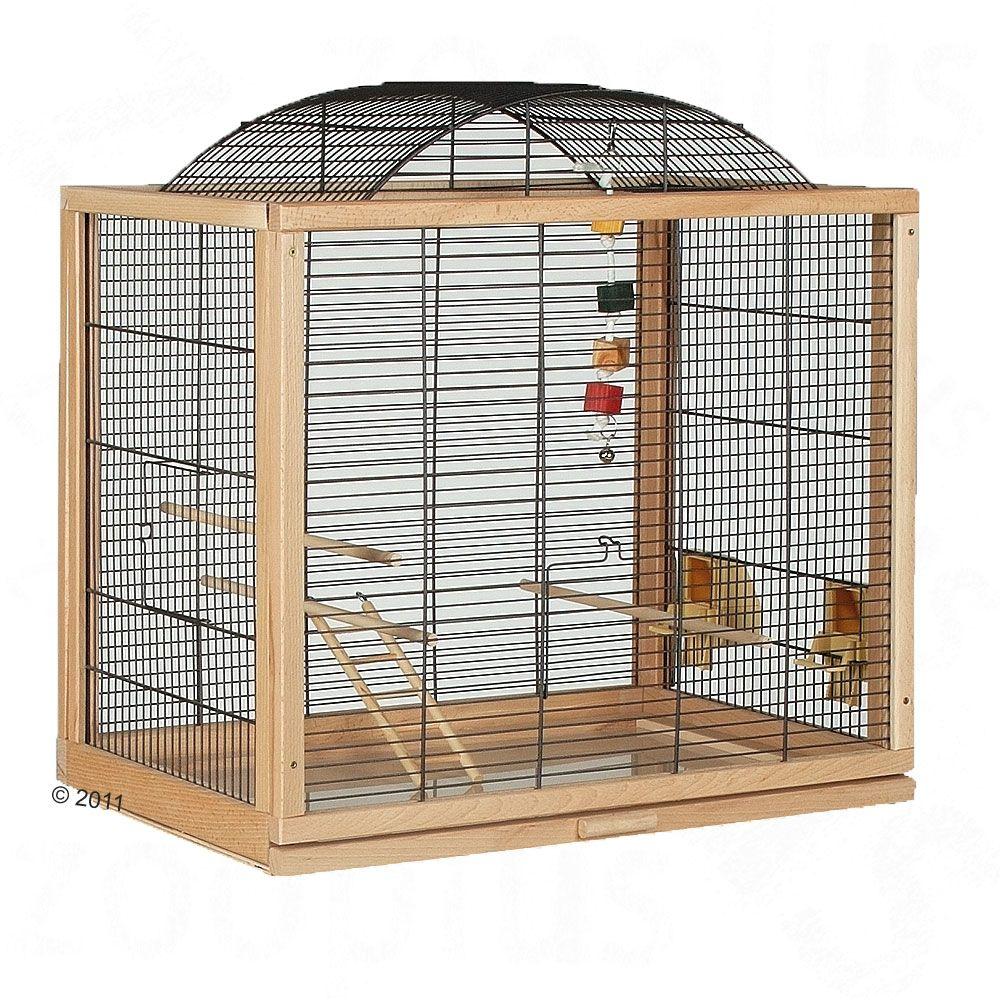 Cage pour perruche et canari Skyline Belinda - L 58 x l 39 x H 61 cm