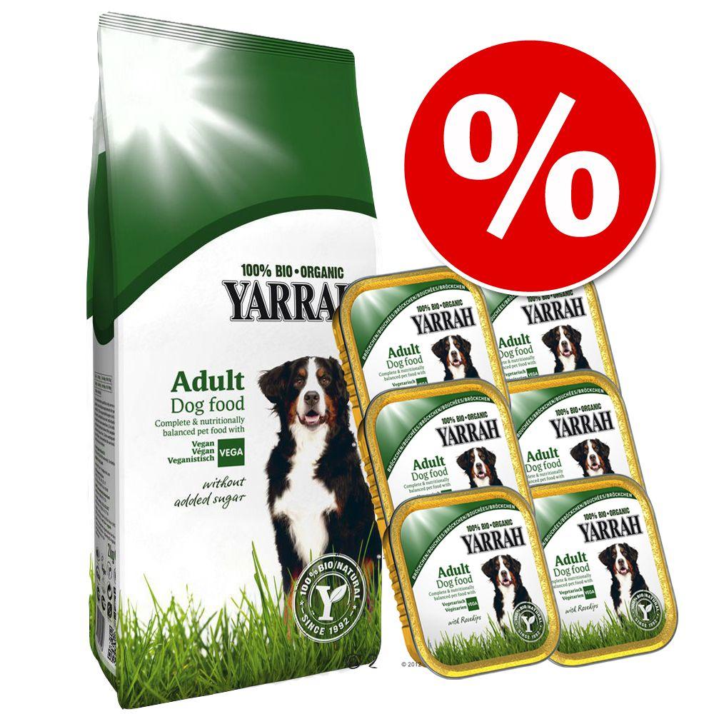 Foto Set vegetariano! 10 kg + 6 x 150 g Yarrah Bio - 10 kg + 6 x 150 g