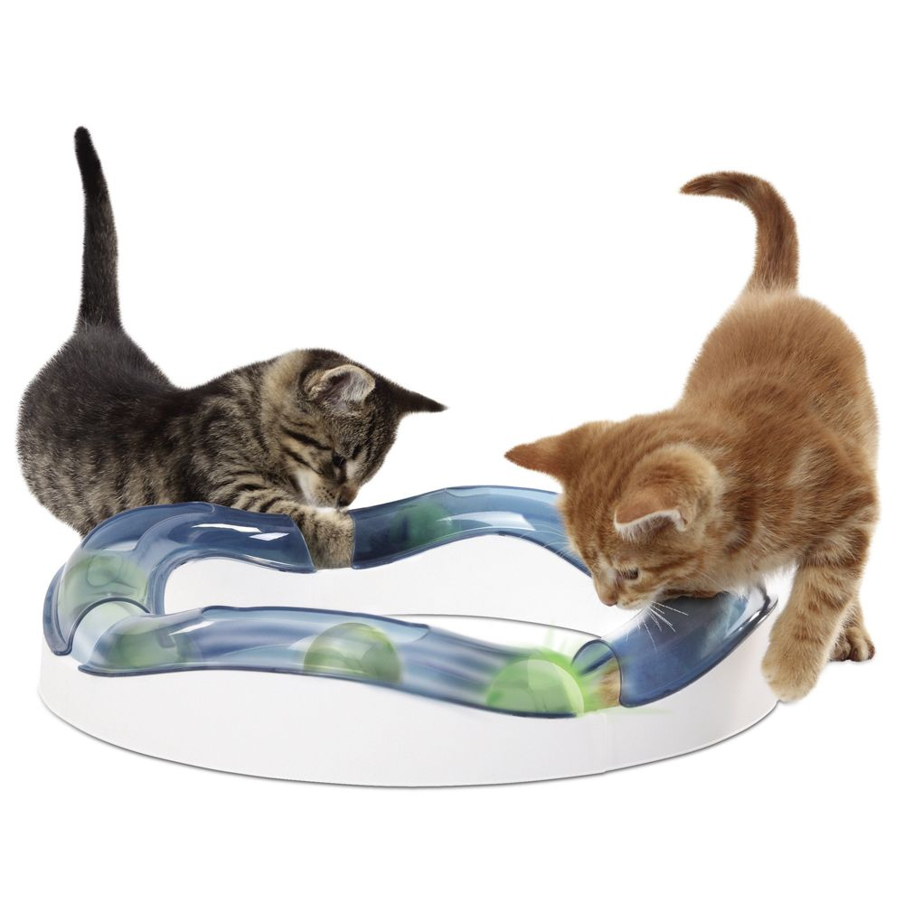 Here is the perfect toy for an amazing game of high speed chase. Put the elements together to create a circle or combine with other Catit products to create intere...