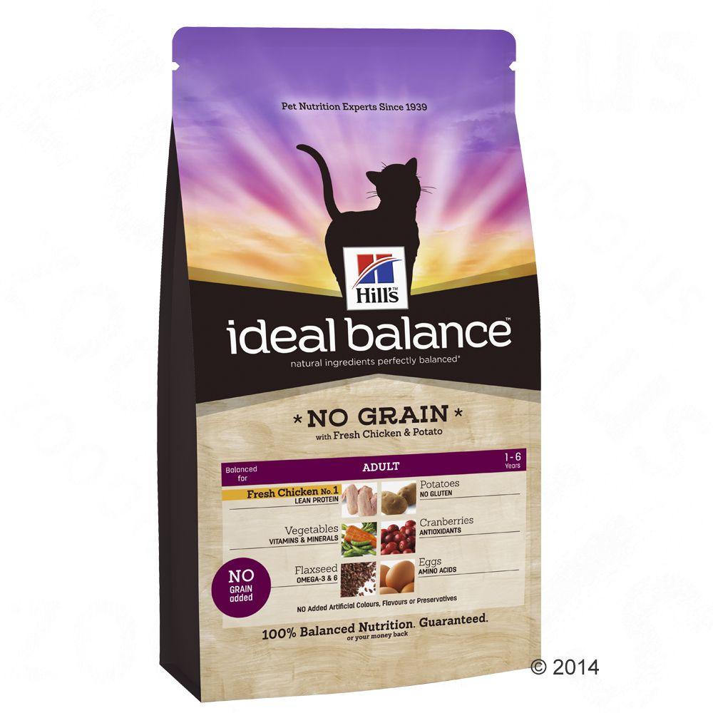 Hill´s Feline Ideal Balance poulet, pommes de terre - 2 x 2 kg