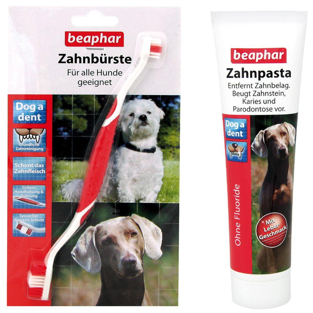 beaphar-dog-a-dent-fogapolo-szett-3-x-fogkefe-fogkrem-100-g