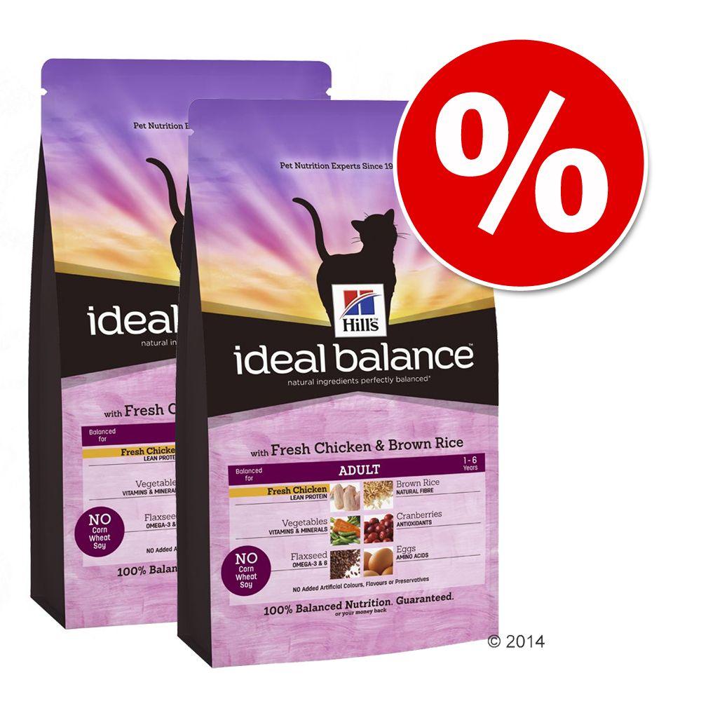 Sparpaket Hill´s Feline Ideal Balance 2 x Großgebinde - Adult Huhn & Reis (2 x 4kg)