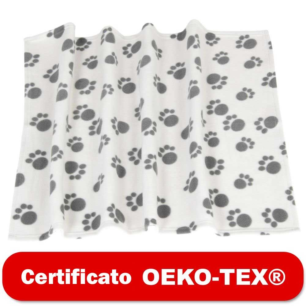 Image of Coperta in pile Pawty - L 100 x P 70 cm