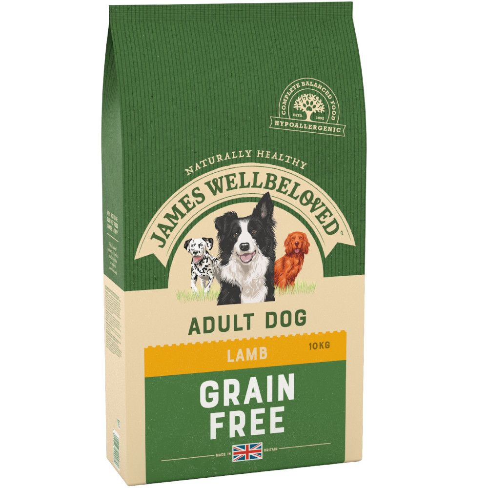 1.5kg James WellbelovedGrain-Free Lamb & Veg Dry Dog Food