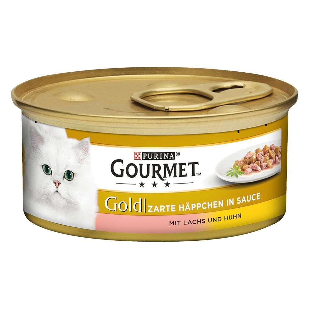 Veal & Vegetables Tender Chunks Gourmet Gold Wet Cat Food