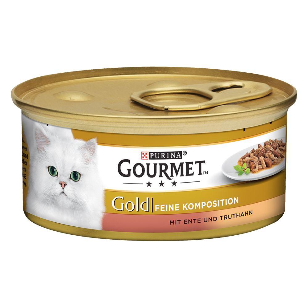 Gourmet Gold Feine Komposition 12 x 85 g - Rind...
