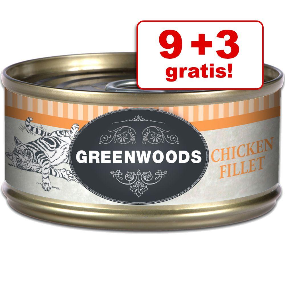 9 + 3 gratis! Greenwoods
