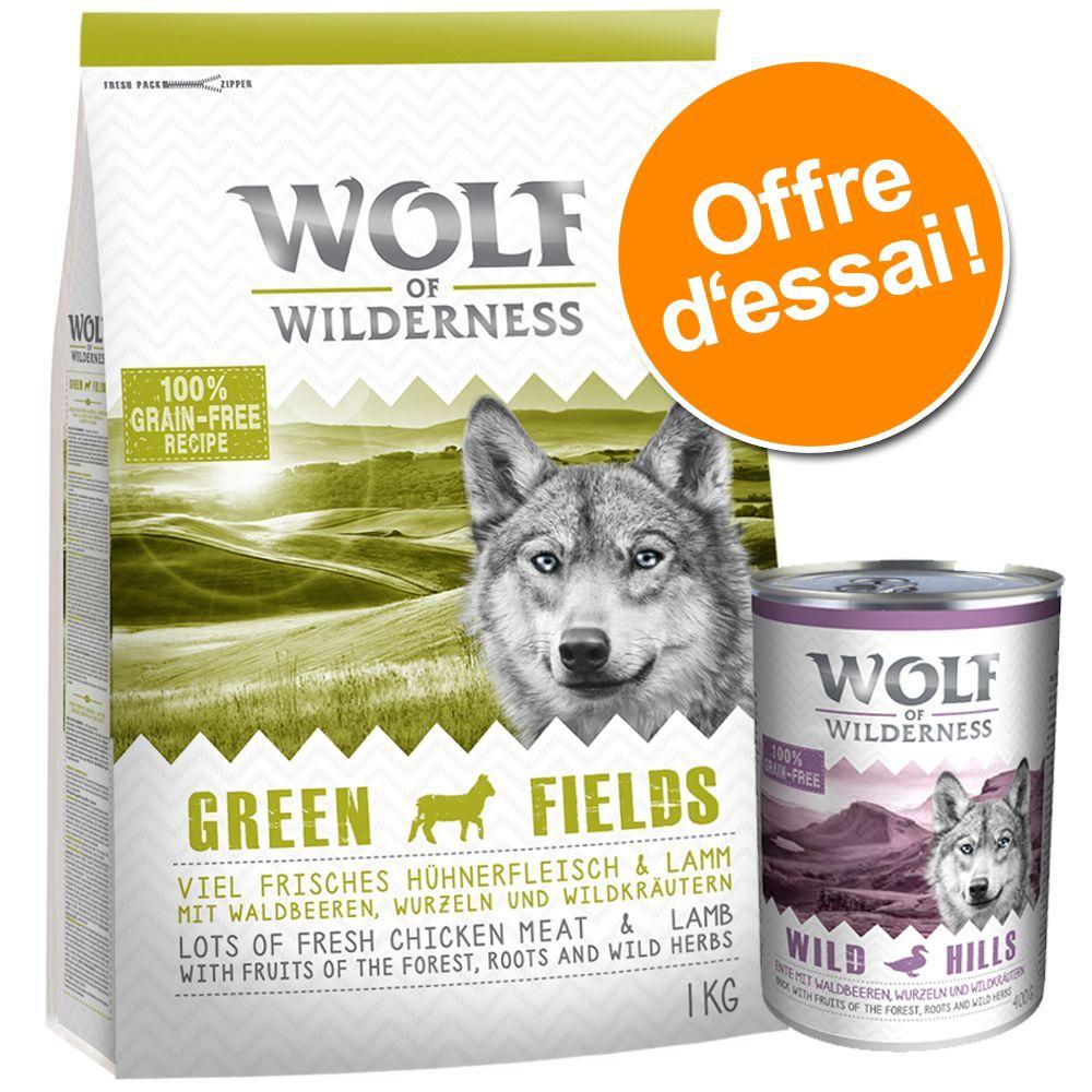 Chien Boîtes et sachets ★ Wolf of Wilderness À découvrir