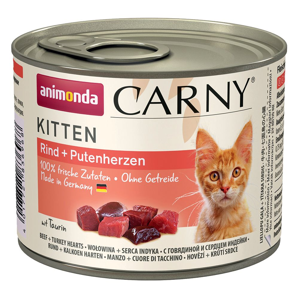 Kitten Mixed Pack Animonda Carny Wet Cat Food