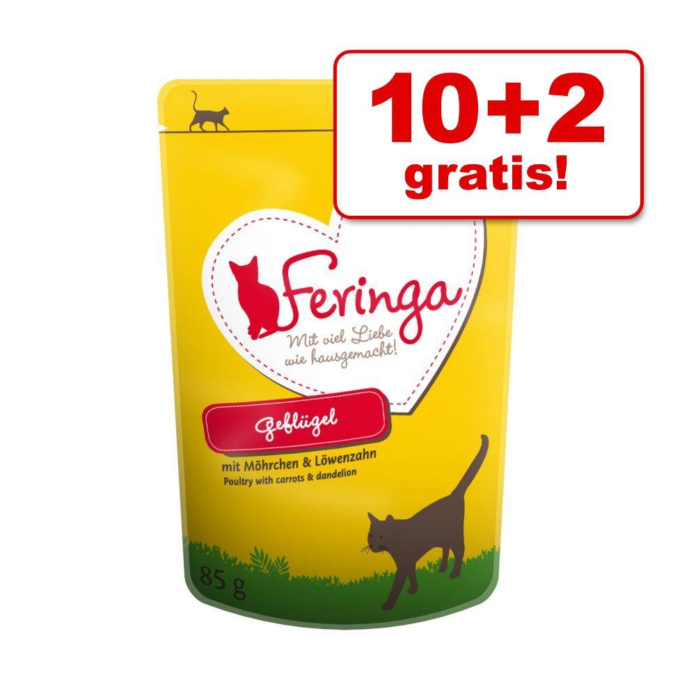 Image of 10 + 2 gratis! 12 x 85 g Feringa in Buste - Pollo con Carotine *Novità!