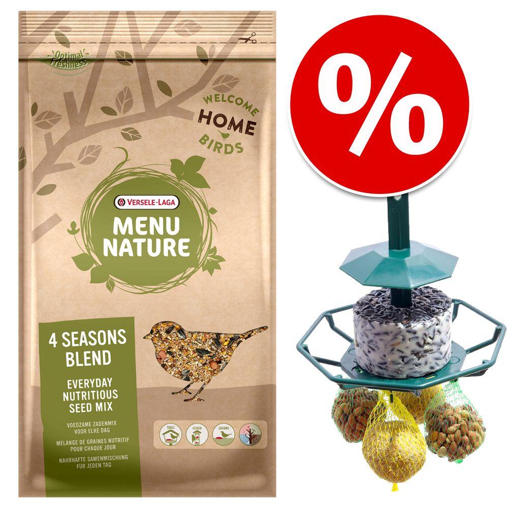 4 kg Versele-Laga Menu Nature 4 Jahreszeiten + ...