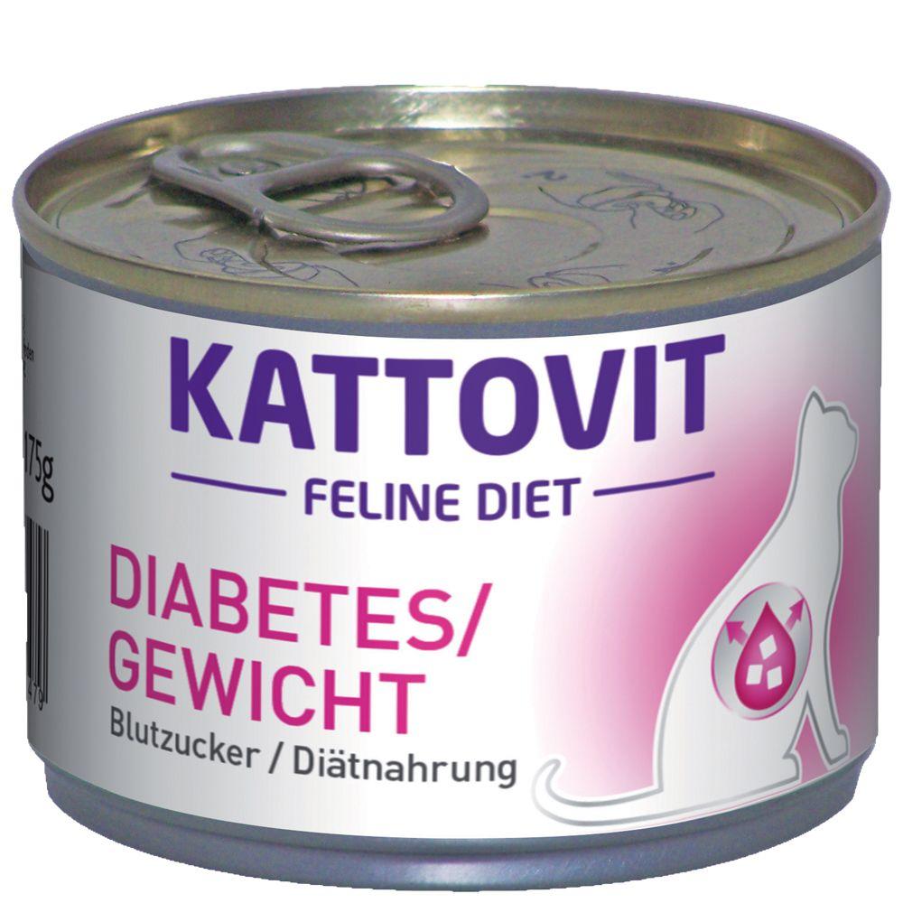 Kattovit Diabetes (Blood Sugar) - 6 x 175g