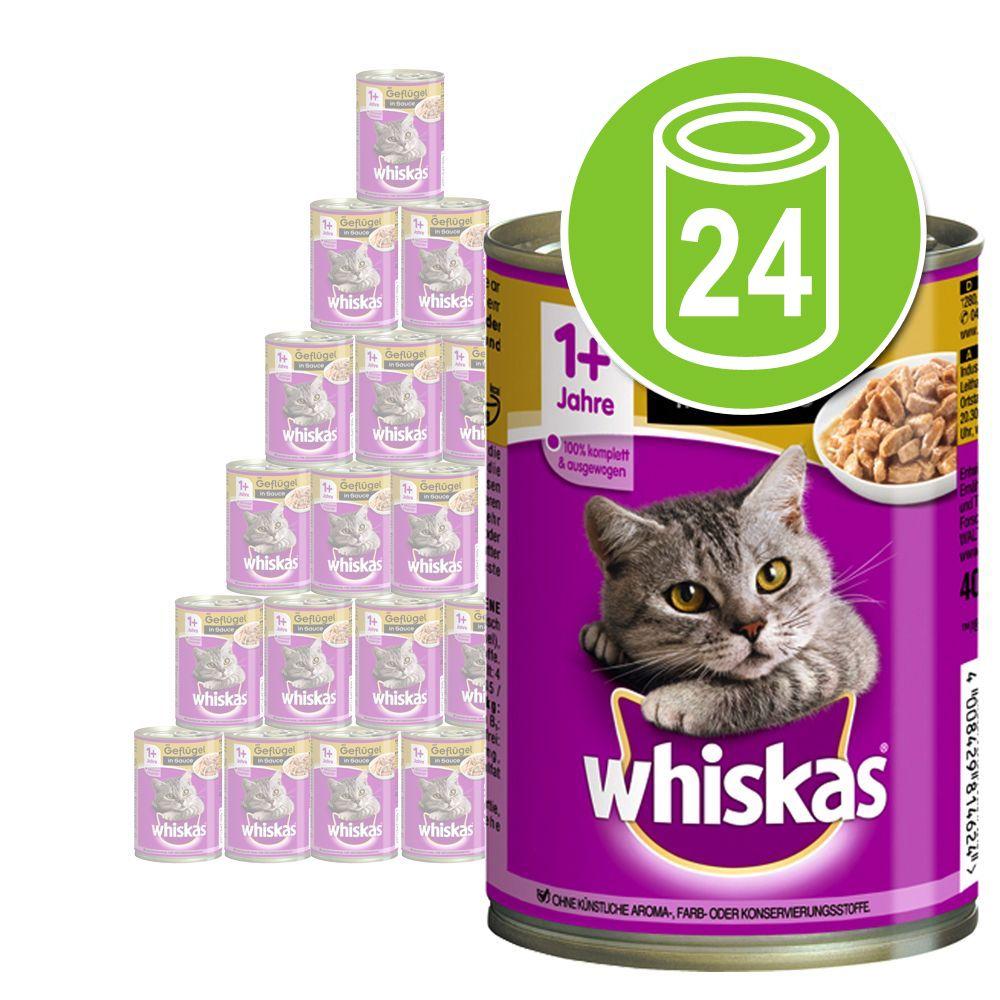 Chat Boîtes et sachets Whiskas Whiskas boîtes