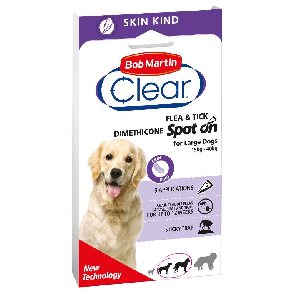 Bob Martin Clear Spot on für Hunde - große Hund...