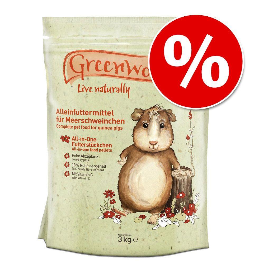 Greenwoods Premiumfutter zum attraktiven Probie...