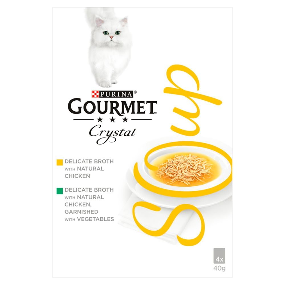 Tuna & Shrimps Gourmet Soup Wet Cat Food