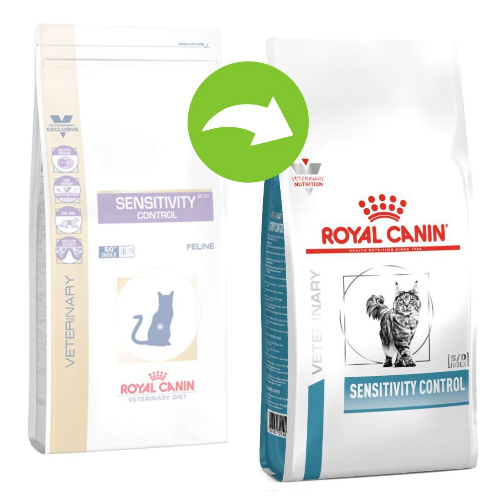 Royal Canin Sensitivity Control SC 27 - Veterinary Diet Cat - Ekonomipack: 2 x 3,5 kg