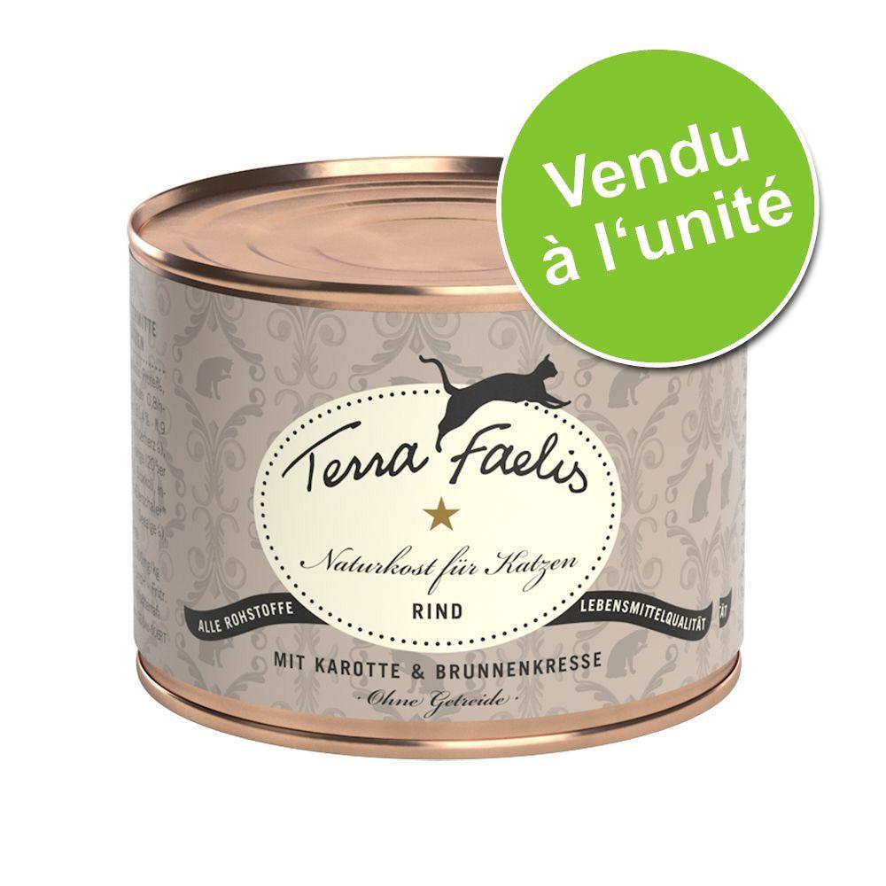 Chat Boîtes et sachets Terra Faelis Terra Felis sans céréales